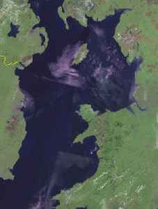 Irish Sea: Sea which separates the islands of Ireland and Great Britain
