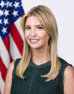 Ivanka Trump: American businesswoman, socialite, fashion model and daughter of Donald Trump
