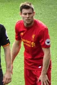 James Milner: English association football player