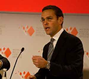 James Murdoch: British media executive