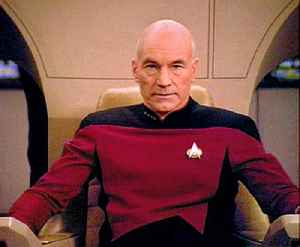 Jean-Luc Picard: Fictional character from the Star Trek franchise