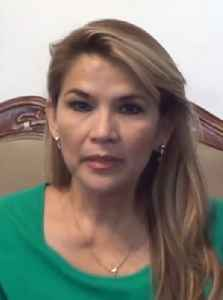 Jeanine Áñez: Bolivian politician and the current and interim President of Bolivia