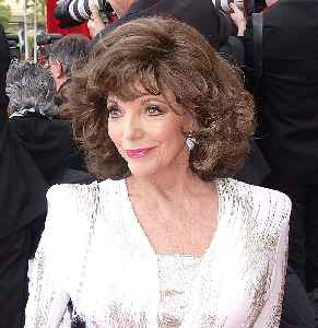 Joan Collins: English actress, author and columnist