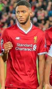 Joe Gomez (footballer): English association football player