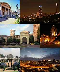 Johannesburg: Place in Gauteng, South Africa
