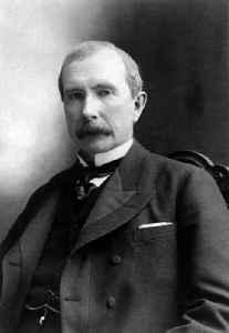 John D. Rockefeller: American business magnate and philanthropist