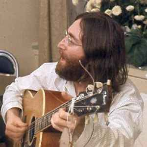 John Lennon: English singer and songwriter, founding member of the Beatles