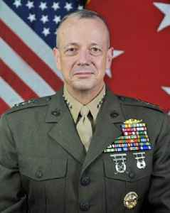 John R. Allen: US Marine Corps general