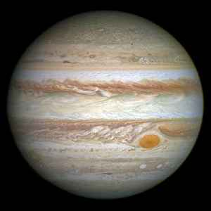 Jupiter: Fifth planet from the Sun and largest planet in the Solar System