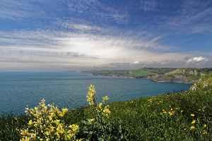 Jurassic Coast: World Heritage Site on the coast of southern England