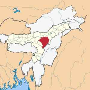 Karbi Anglong district: District of Assam in India