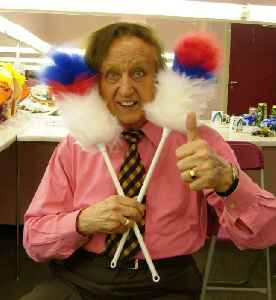 Ken Dodd: English comedian, singer-songwriter and actor