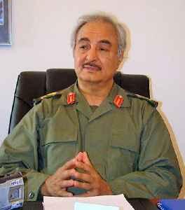 Khalifa Haftar: Libyan Field Marshal leader of LNA