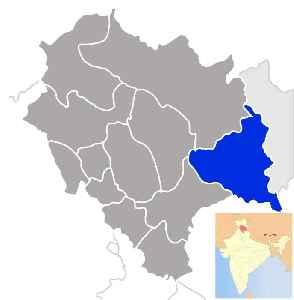 Kinnaur district: District of Himachal Pradesh in India
