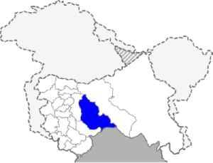 Kishtwar district: District of Jammu and Kashmir in India
