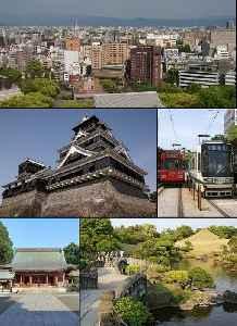 Kumamoto: Designated city in Kyushu, Japan