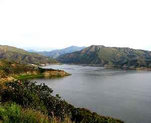Lake Piru: Lake in California