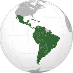 Latin America: Region of the Americas where Romance languages are primarily spoken