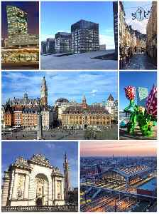 Lille: Prefecture and commune in Hauts-de-France, France