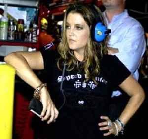 Lisa Marie Presley: American singer-song-writer and daughter of Elvis Presley
