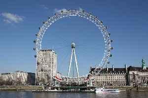 London Eye: Observation wheel in London, England