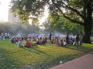 London Fields: Human settlement in England