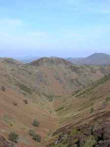 Long Mynd: Heath and moorland plateau that forms part of the Shropshire Hills in Shropshire, England