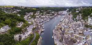 Looe: Coastal town, fishing port and civil parish in south-east Cornwall