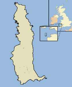 Lundy: English island in the Bristol Channel