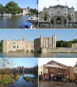 Maidstone: The county town of Kent, England