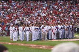 Major League Baseball All-Star Game: Exhibition game played by Major League Baseball players representing each league