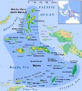 Maluku Islands: Archipelago in eastern Indonesia, also called the Spice Islands
