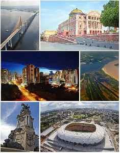Manaus: Metropolis in North, Brazil