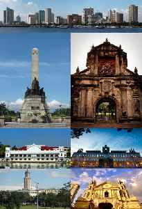 Manila: Capital and chief port of the Philippines
