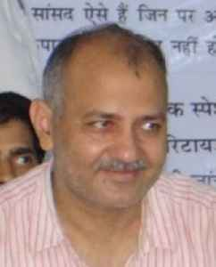Manish Sisodia: Indian politician