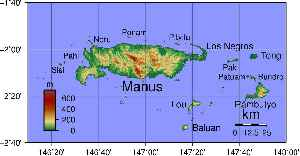 Manus Island: Part of Manus Province in northern Papua New Guinea