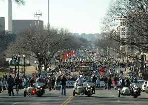 March for Life (Washington, D.C.): Annual pro-life rally in Washington, D.C.
