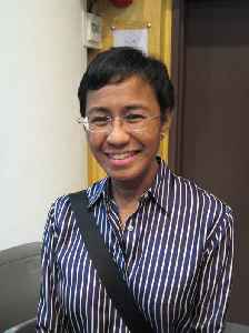 Maria Ressa: Filipina journalist who is the CEO of Rappler