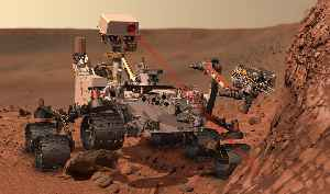 Mars rover: Vehicle which propels itself across the surface of the planet Mars