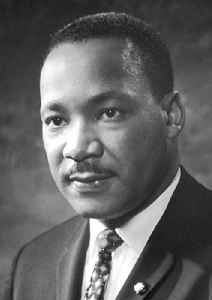 Martin Luther King Jr.: U.S. civil rights movement leader