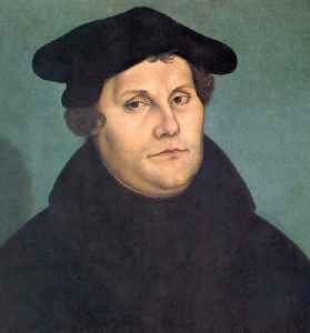 Martin Luther: Saxon priest, monk and theologian, seminal figure in Protestant Reformation