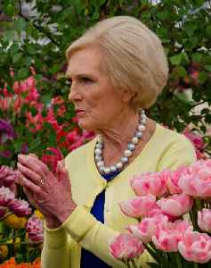 Mary Berry: British food writer and television presenter