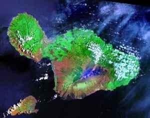 Maui: Island of the Hawaiian Islands in the Pacific Ocean