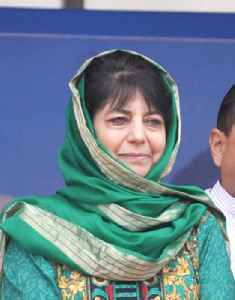 Mehbooba Mufti: Indian politician and current Chief Minister of Jammu and Kashmir