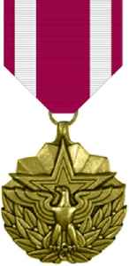 Meritorious Service Medal (United States): Military award presented to members of the United States Armed Forces
