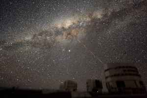 Milky Way: Universe events since the Big Bang 13.8 billion years ago