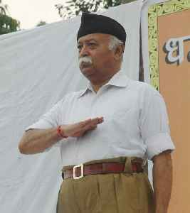 Mohan Bhagwat: Indian activist and current chief of the Hindutva nationalist organisation Rashtriya Swayamsevak Sangh