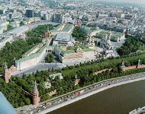 Moscow Kremlin: Fortified complex in Moscow, Russia