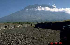 Mount Agung: Volcano in Bali in Indonesia