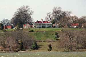 Mount Vernon: Plantation estate of George Washington, in Fairfax County, Virginia, USA